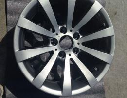 Alloy wheel refurbishment – After