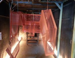 Machine guards – curing process