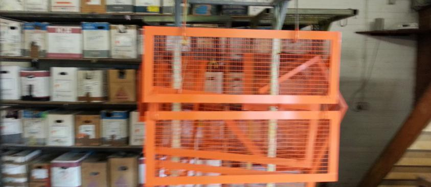Machine guards – orange gloss