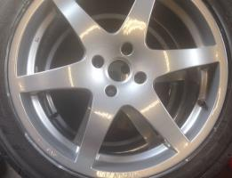 Refurbished alloy wheel